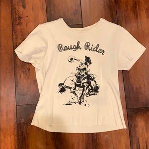 Brandy Melville Rough Rider top
